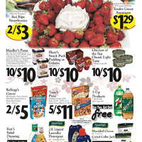 Sheena's Marketplace ad circular